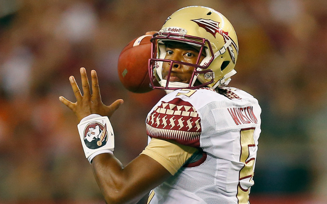 (Video) Florida State QB Jameis Winston connects for 59-yard touchdown