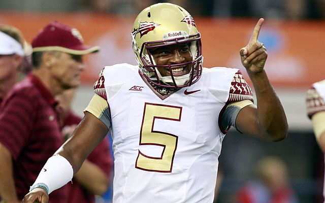 (Video) FSU QB Jameis Winston does a pre-game Heisman dance