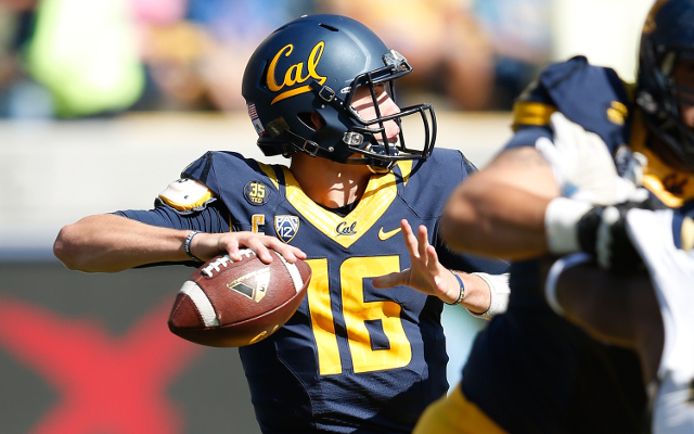 (Video) Cal QB Jared Goff throws go-ahead TD pass to WR Kenny Lawler
