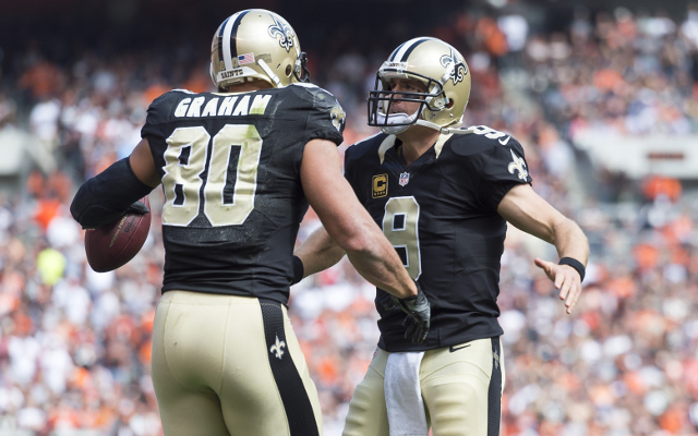 New Orleans Saints TE Jimmy Graham to miss 2-3 weeks with shoulder sprain