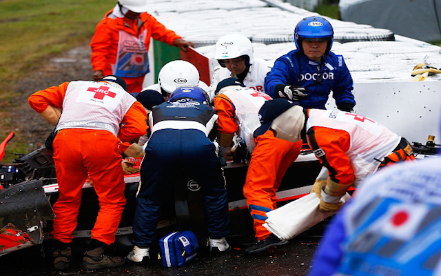 Jules Bianchi latest news – F1 star suffers traumatic brain injury after horror Japanese GP crash