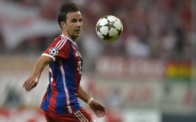 Mario Goetze Bayern Munich