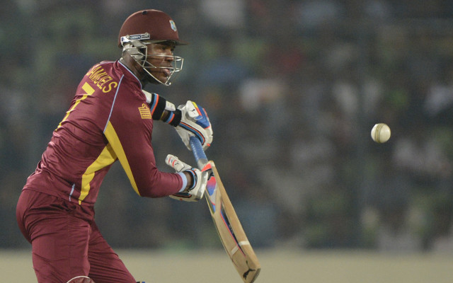 (Video) India v West Indies – Marlon Samuels hits stratospheric six
