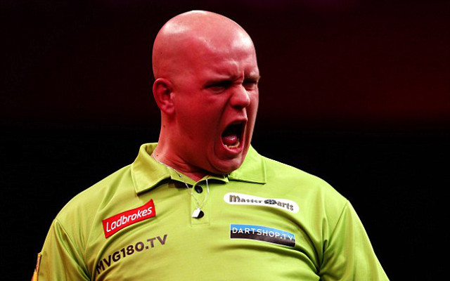 Darts: Michael van Gerwen wins European Championship as Terry Jenkins loses ninth major PDC final