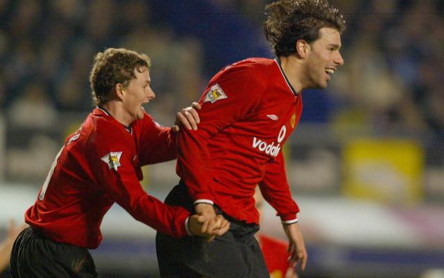 Ole Gunnar Solskjaer Ruud van Nistelrooy Manchester United