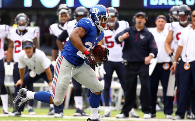 REPORT: New York Giants RB Rashad Jennings won't need surgery on knee