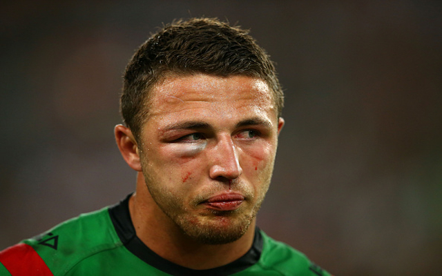 (Image) South Sydney Rabbitohs grand final hero Sam Burgess tweets from hospital bed