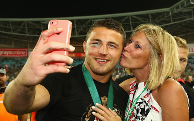 (Image) Outgoing South Sydney Rabbitohs star Sam Burgess posts touching message after NRL grand final win