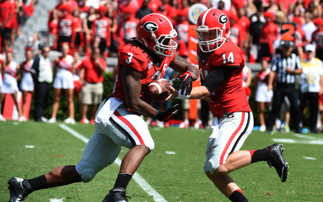 REPORT: Georgia running back Todd Gurley likely done for season