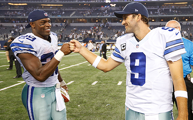 Cowboys QB Tony Romo says he would have taken pay cut to keep DeMarco Murray