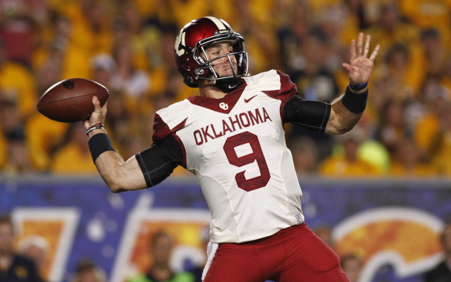 (Image) Katy Perry shows her love for Oklahoma QB Trevor Knight