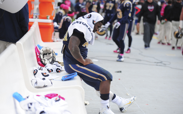 REPORT: St. Louis Rams running back Zac Stacy has strained calf