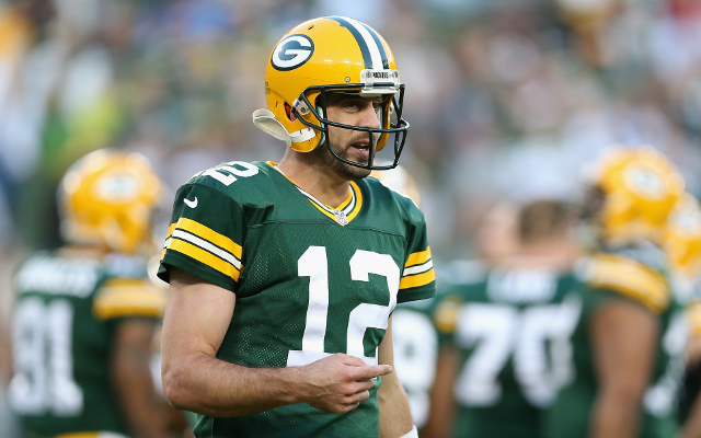 Green Bay Packers QB Aaron Rodgers probable for Sunday night