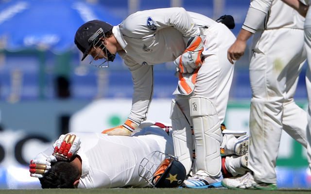 (Video) Ouch! Pakistan batsman Ahmed Shahzad fractures skull after being hit by bouncer