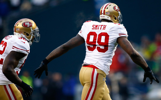 San Francisco 49ers linebacker complains on Twitter
