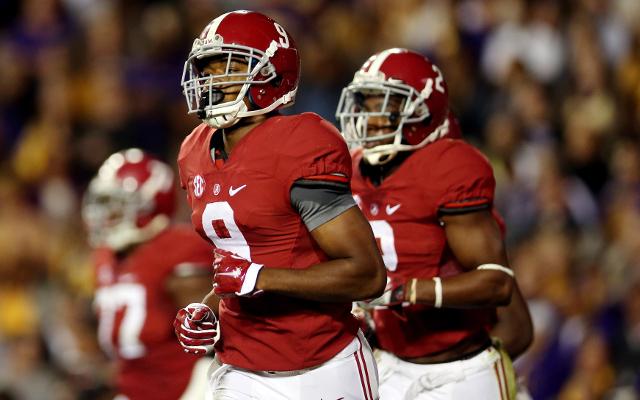 (Video) HEISMAN ALERT: Alabama WR Amari Cooper reaches up for touchdown catch