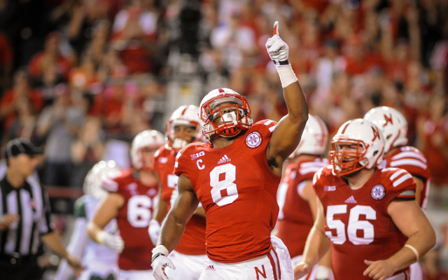 INJURY: Nebraska RB Ameer Abdullah ruled out of game with knee injury