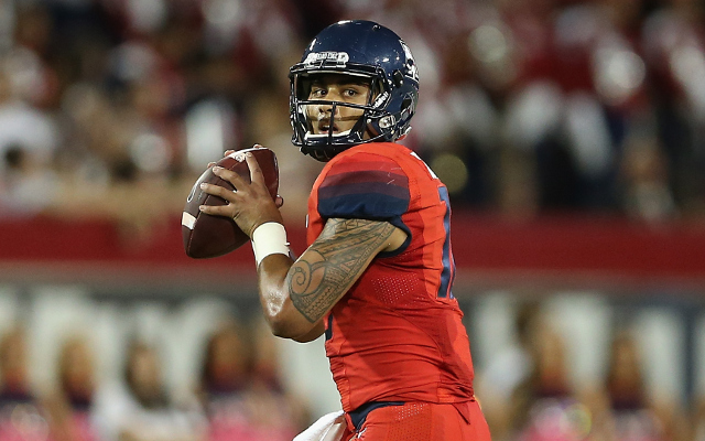 CFB Week 14: #11 Arizona clinches Pac-12 South with 42-35 win over #13 Arizona State
