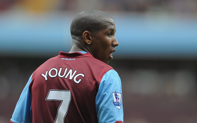 Ashley Young Aston Villa