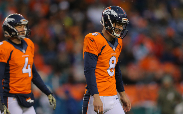 REPORT: Denver Broncos considering changing kickers