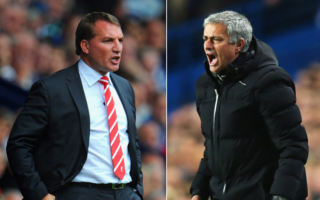 Combined Liverpool v Chelsea XI, with Brendan Rodgers' side horribly under-represented