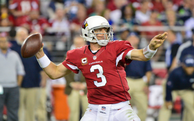 INJURY: Arizona Cardinals QB Palmer may have torn ACL, out indefinitely