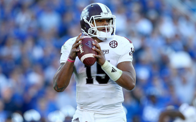 (Video) HEISMAN ALERT: Mississippi State QB Dak Prescott runs for 48-yard TD