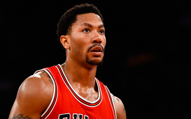 (Video) NBA news: Derrick Rose doesn't care about timetable for his return from injury