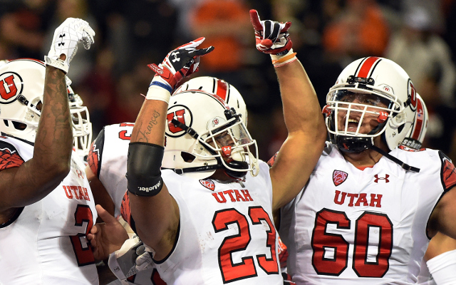 (Video) Utah RB Devontae Booker scores on 60-yard touchdown run