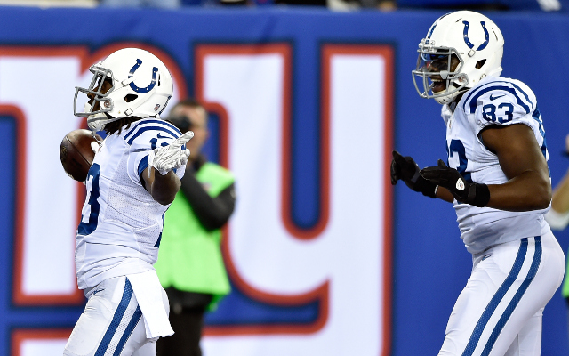INJURY: Indianapolis Colts TE Dwayne Allen ankle injury considered minor
