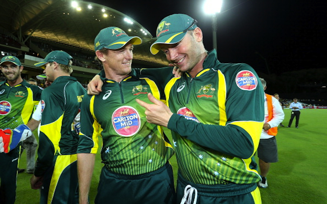 George Bailey offers special help to Michael Clarke to get skipper back to full fitness in time for World Cup