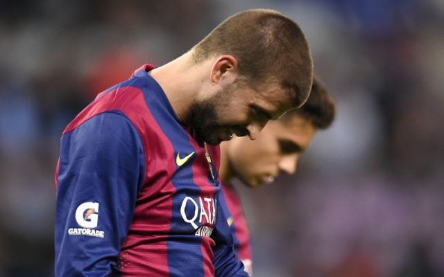 Chelsea and Manchester United target Gerard Pique to have crisis talks at the Nou Camp