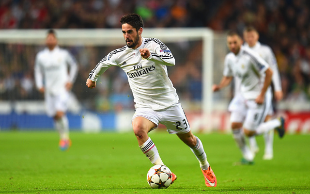Arsenal given green light to make £32.9m move for Real Madrid star Isco
