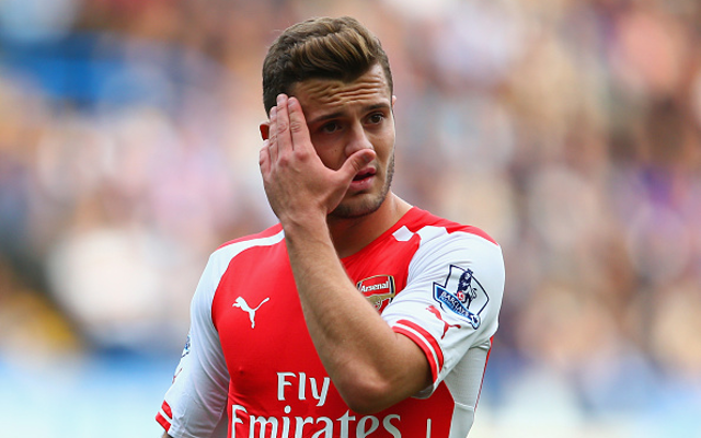 Bad news for Arsenal: Jack Wilshere facing extended spell on the sidelines