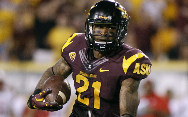 (Video) Arizona State WR Jaelen Strong snags touchdown catch with one hand