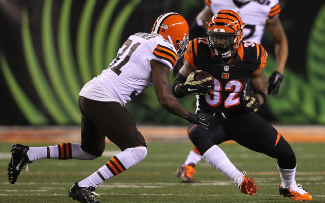 Cincinnati Bengals RB Jeremy Hill says Cleveland Browns are worse than he thought