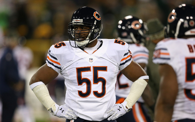 INJURY: Chicago Bears place linebacker Lance Briggs on injured reserve
