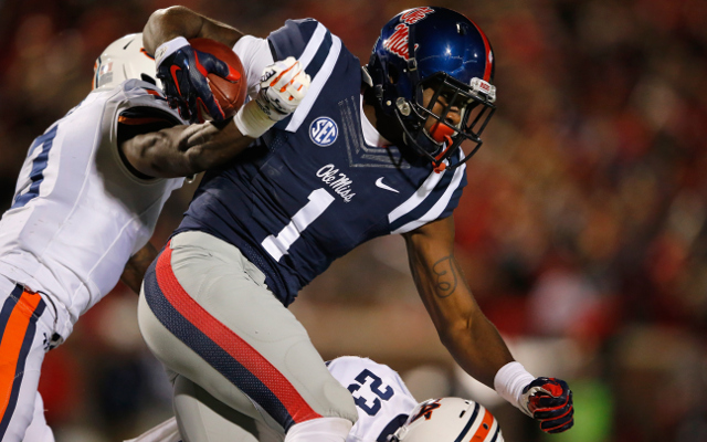 REPORT: Ole Miss WR Laquon Treadwell to miss four months with ankle injury