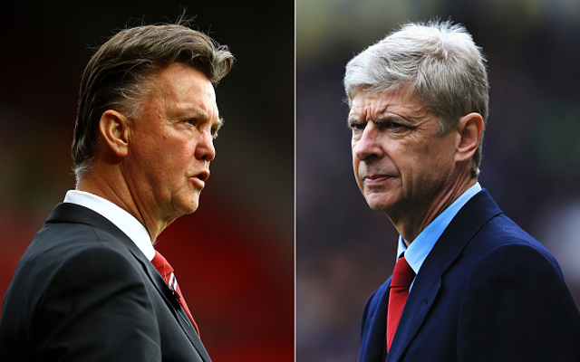 Arsenal boss SLAMS Man United abandoning transfer policy which has won him TWO trophies in 10 years