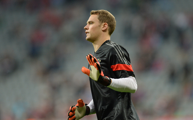 (Video) Manuel Neuer makes stunning save to frustrate Arsenal in Champions League showdown