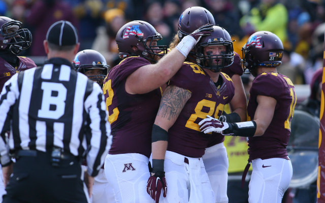 (Video) Minnesota TE Maxx Williams makes incredible TD catch