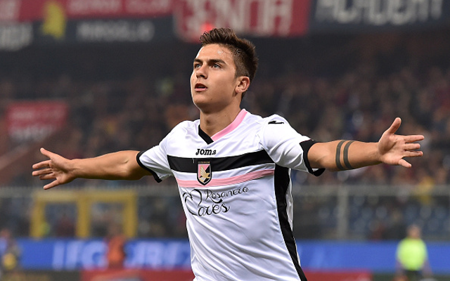 Arsenal dealt transfer blow as Paulo Dybala prepares to sign new Palermo deal