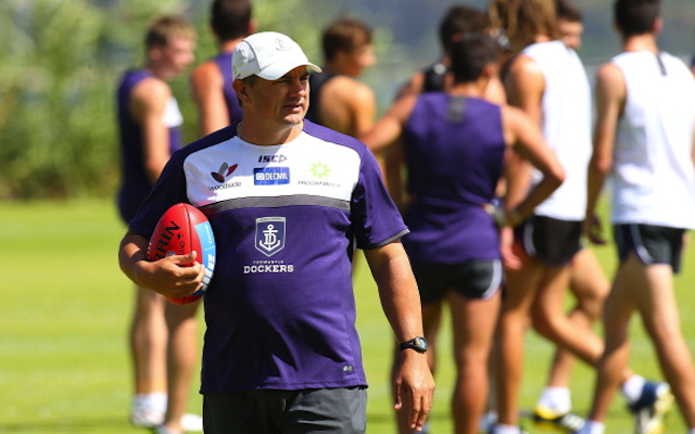 Fremantle Dockers assistant pulls out of running for Western Bulldogs top job