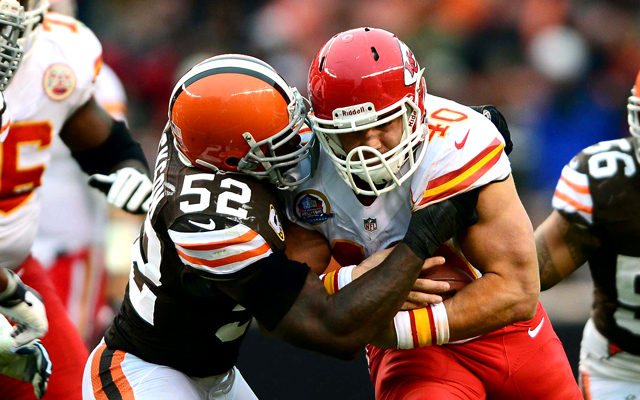 Former Madden cover athlete Peyton Hillis out for year with concussion