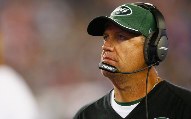 New York Jets head coach Rex Ryan fined $100K for swearing