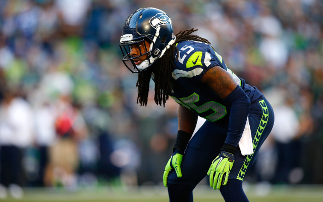 Injury: Seattle Seahawks CB Richard Sherman has sprained elbow but will play in Super Bowl