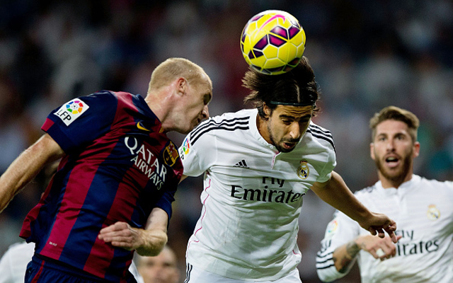 Real Madrid misfit Sami Khedira could make shock transfer to rivals Barcelona