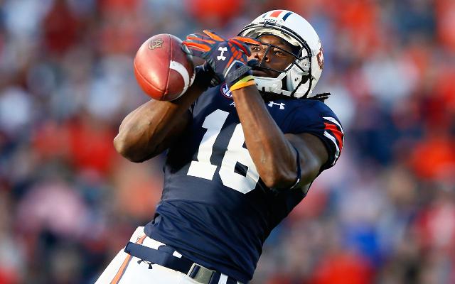 (Video) Auburn WR Sammie Coates torches Alabama with 68-yard TD catch