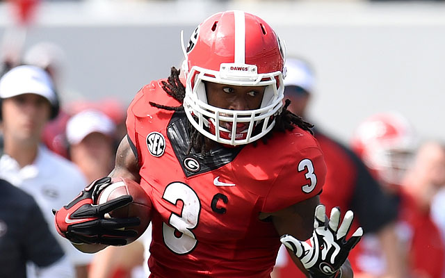 2015 NFL Draft: St. Louis Rams make shocking decision by selecting RB Todd Gurley 10th overall