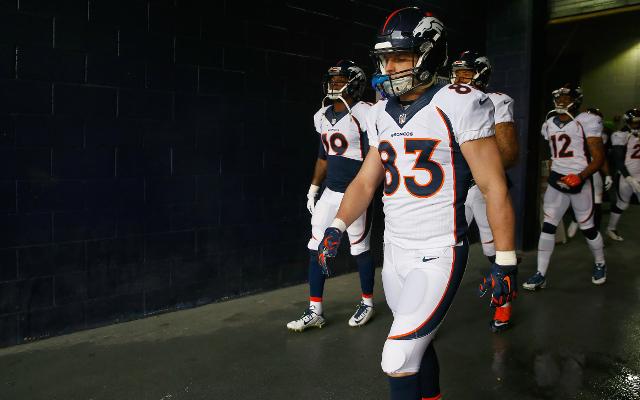 INJURY: Denver Broncos WR Wes Welker considered day-to-day